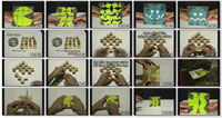 Make an Amazing Moving Cube ss s%28Downloadha.com%29 دانلود کلیپ حرکات زیبا با مکعب های کوچک