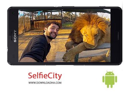 SelfieCity Cover%28Downloadha.com%29 دانلود نرم افزار عکاسی باکیفیت SelfieCity v1.0.0 برای اندروید