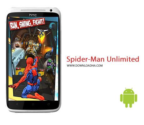 Spider Man Unlimited Cover%28Downloadha.com%29 دانلود بازی اکشن و زیبای مردعنکبوتی Spider Man Unlimited v1.7.1b برای اندروید