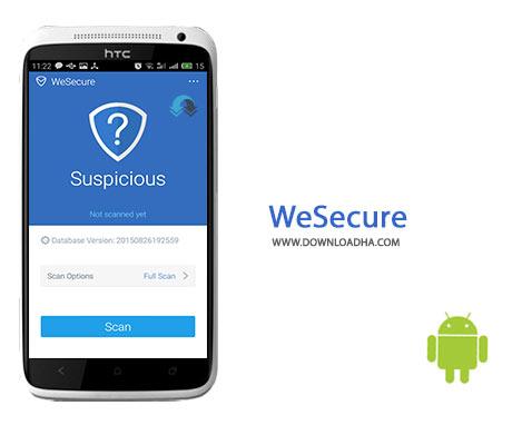 WeSecure Cover%28Downloadha.com%29 دانلود آنتی ویروس رایگان WeSecure 1.4.0.81 برای اندروید