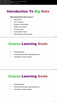 Introduction-To-Big-Data-Video-Training-