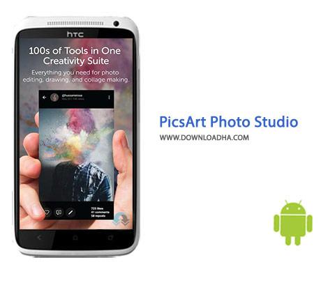 دانلود نرم افزار ویرایش عکس PicsArt Photo Studio 11.9.6 – اندروید