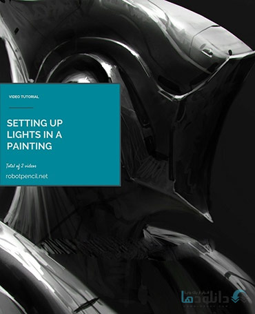 Gumroad-Anthony-Jones-Setting-Up-Lights-In-A-Painting-Cover