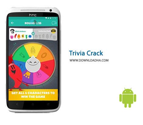 دانلود بازی اطلاعات عمومی برای اندروید Trivia Crack 2.87.2