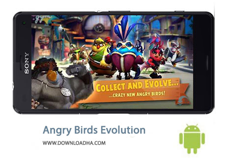 کاور-Angry-Birds-Evolution