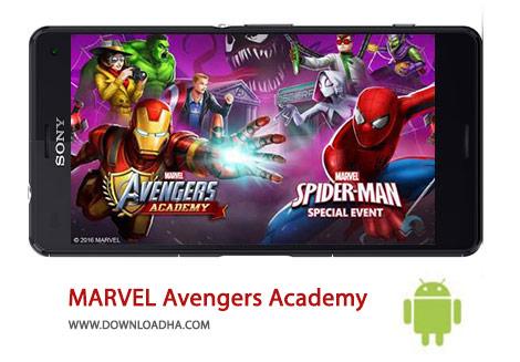 کاور-MARVEL-Avengers-Academy