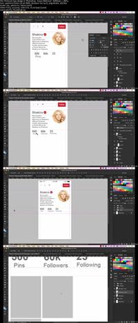 دانلود-فیلم-آموزش-Pinterest-App-design-In-Photoshop