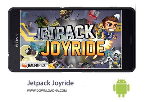 دانلود بازی آرکید Jetpack Joyride 1.30.1 – اندروید