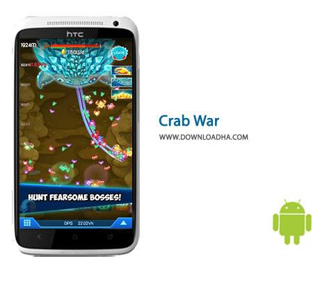دانلود بازی ماجرایی جنگ خرچنگ برای اندروید Crab War 3.0.2