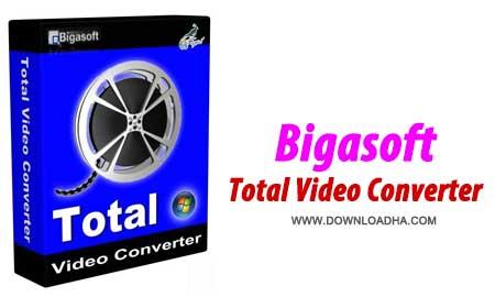 تبدیل آسان فرمت های ویدئویی Bigasoft Total Video Converter 4.2.1.5186