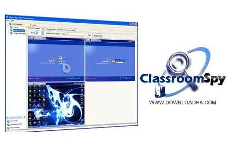 مدیریت کامپیوترهای در شبکه Classroom Spy Professional 3.9.17.1