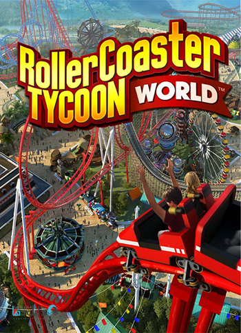 RollerCoaster Tycoon World-pc-cover