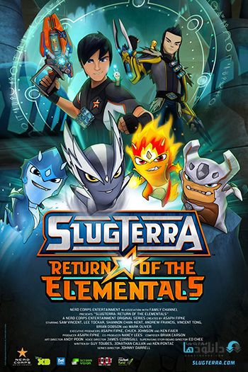 Slugterra Return of the Elementals 2014 cover small دانلود انیمیشن Slugterra Return of the Elementals 2014