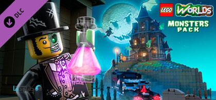 دانلود-بازی-LEGO-Worlds-Monster-Pack