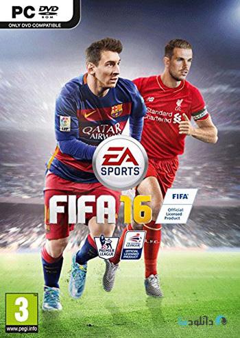 FIFA 16 pc cover دانلود دمو بازی فیفا 16   FIFA 16 DEMO برای PC