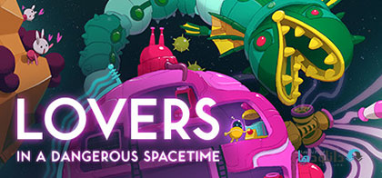 Lovers in a Dangerous Spacetime pc cover دانلود بازی Lovers in a Dangerous Spacetime برای PC