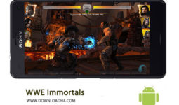 کاور-WWE-Immortals