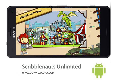 کاور-Scribblenauts-Unlimited