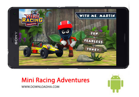 کاور-Mini-Racing-Adventures