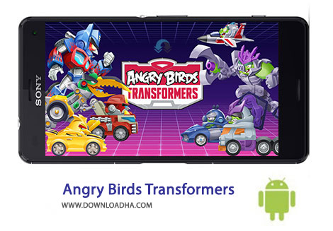 کاور-Angry-Birds-Transformers