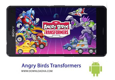 کاور-Angry-Birds-Transformers