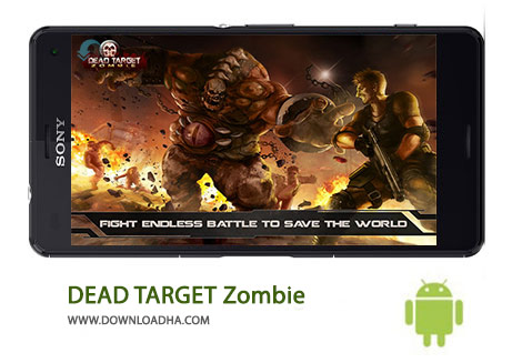 کاور-DEAD-TARGET-Zombie
