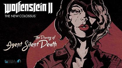 معرفی و دانلود بازی Wolfenstein II The Diaries of Agent Silent Death برای PChttp://www.gnsorena.ir/