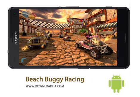 کاور-Beach-Buggy-Racing
