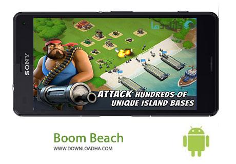 دانلود بازی استراتژیک ساحل بوم Android Boom Beach 37.125 – اندروید
