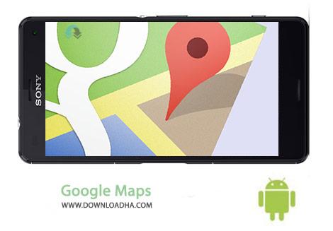 دانلود نقشه گوگل Google Maps 10.16.1 – اندروید