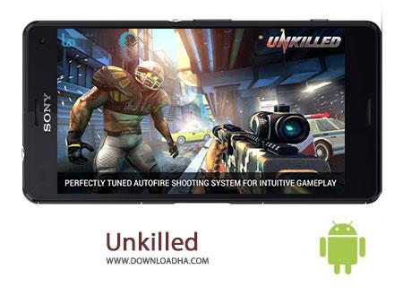 دانلود بازی اکشن و تیراندازی Unkilled 2.0.5 – اندروید