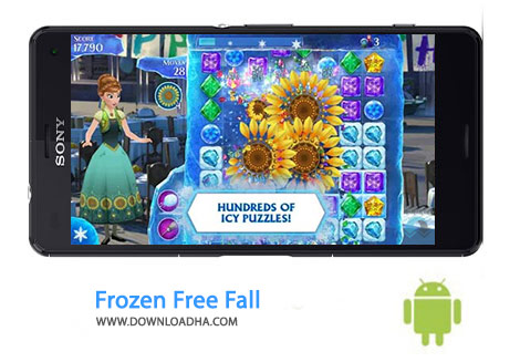کاور-Frozen-Free-Fall