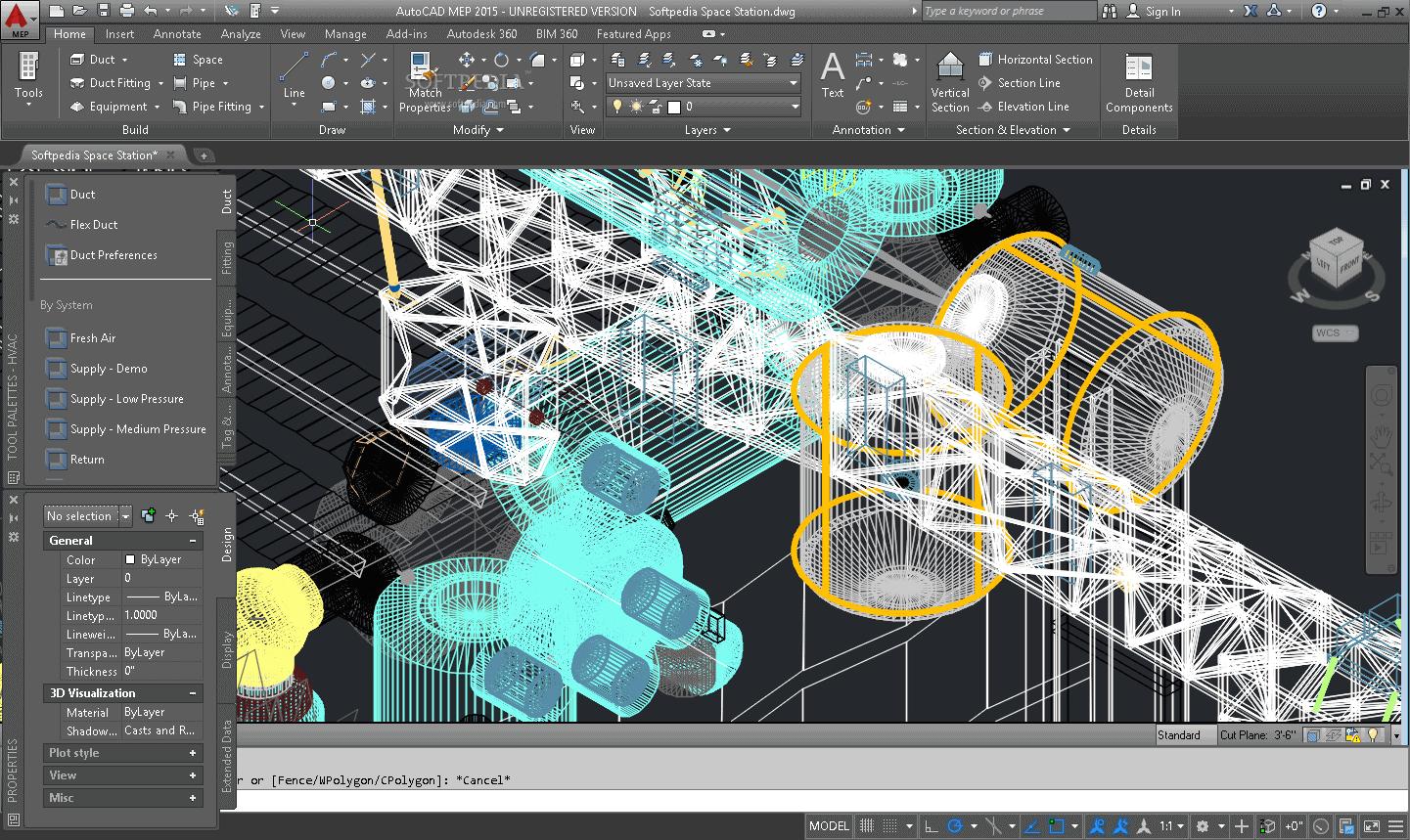 دانلود AUTODESK AutoCAD MEP 2020 – ترسیم نقشه تاسیسات ساختمان