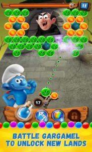 اسکرین-شات-smurfs-bubble-story