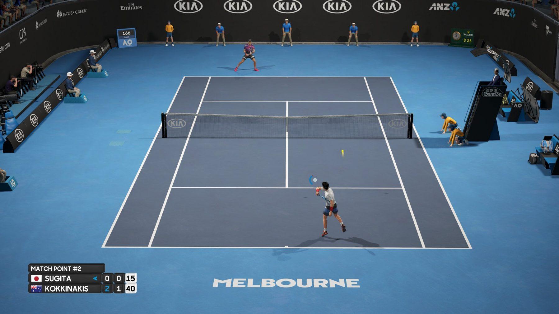 دانلود بازی AO International Tennis برای کامپیوتر + ریپک FitGirl
