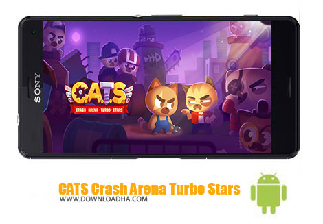 بازی-CATS-Crash-Arena-Turbo-Stars-اندروید