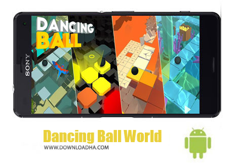 بازی-Dancing-Ball-World-اندروید