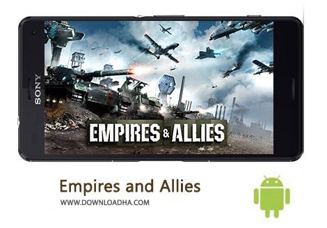 کاور-Empires-and-Allies