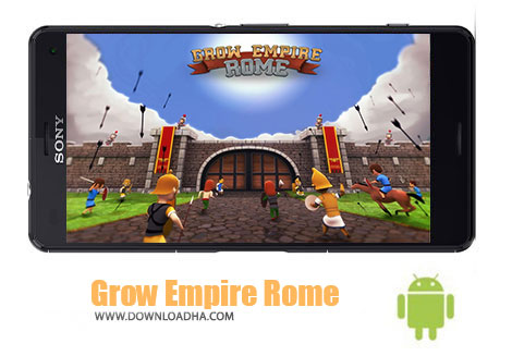 بازی-Grow-Empire-Rome-اندروید
