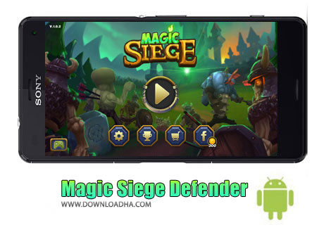 بازی-Magic-Siege-Defender