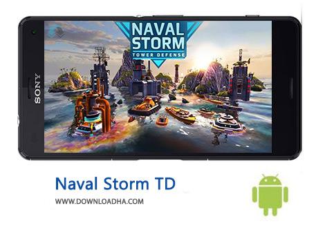 کاور-Naval-Storm-TD