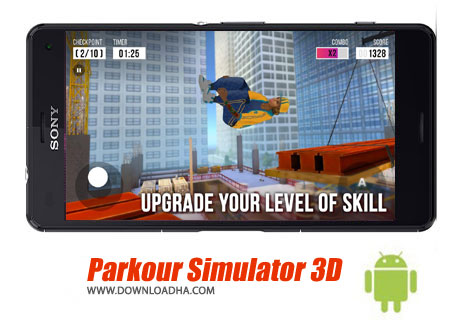 بازی-parkour-simulator-3d-اندروید