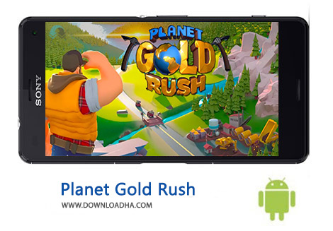 کاور-Planet-Gold-Rush