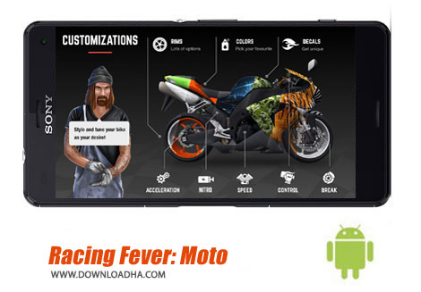 بازی-racing-fever-moto-اندروید