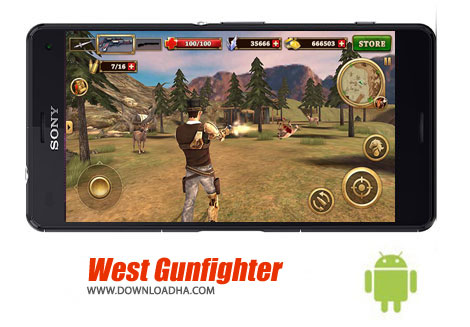 بازی-west-gunfighter-اندروید
