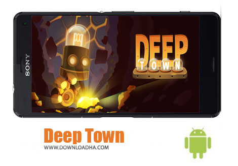 دانلود بازی استراتژیک شهر زیر زمینی برای اندروید Deep Town Mining Factory v3.6.7
