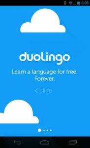اسکرین-شات-Duolingo