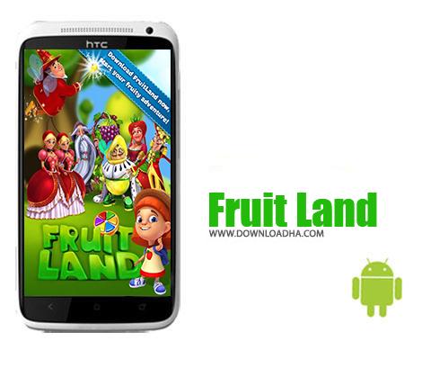 دانلود بازی پازلی سرزمین میوه ها برای اندروید Fruit Land v1.202.0