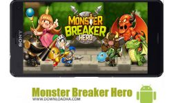 بازی-Monster-Breaker-Hero-اندروید