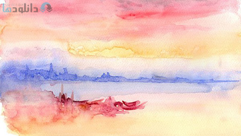 کاور-Painting-free-watercolours-like-Turner-with-David-J-Walker